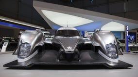 908 2009 expositions hy de Peugeot s de moteur de Genève le Mans Images stock