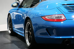 911个马达巴黎堡侍捷显示speedster 免版税库存照片
