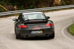 911 2012 pino porsche samlar turbo verde Arkivbilder