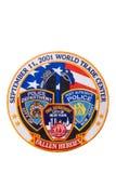 911 изолированная дань заплаты Стоковые Изображения RF