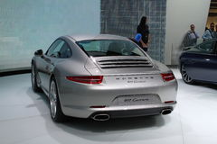 911 carrera η νέα Porsche Στοκ Εικόνες