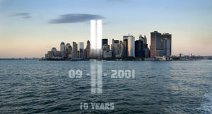 911 commemoration Royalty Free Stock Photography
