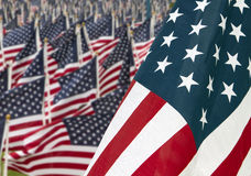 911 de HerdenkingsVlaggen van Verenigde Staten van de dag Stock Afbeelding