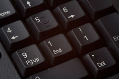 911 on keyboard number pad Stock Images