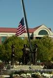 911 mémorial - Sandy, Utah image libre de droits