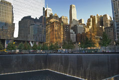 911 Memorial Pool and Waterfall Royalty Free Stock Photography
