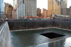 911 memoriale, New York City Fotografie Stock Libere da Diritti