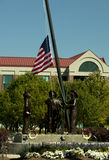 911 monumento - Sandy, Utah Imagen de archivo libre de regalías