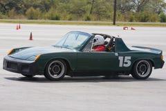 914 Porsche autocrossing Fotografia Stock