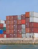 9257 контейнеров Стоковые Изображения