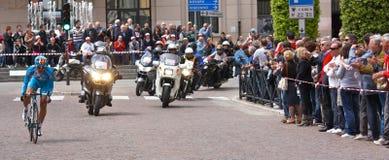 93rd d'Italia do Giro (excursão de Italy) - dando um ciclo Imagens de Stock Royalty Free