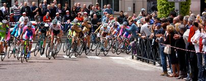 93rd Giro d'Italia (Tour of Italy) - Cycling royalty free stock photo