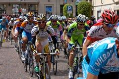 93ste d'Italia van de Giro (Reis van Italië dat) - cirkelt Royalty-vrije Stock Afbeelding
