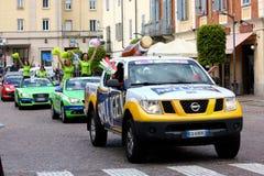 93ste d'Italia van de Giro (Reis van Italië dat) - cirkelt Stock Afbeelding