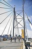 94.7, cirkuleringsChallenge - Mandela broavsnitt Arkivbilder