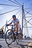 94.7 Cycle Challenge - Riders On Mandela Bridge Royalty Free Stock Photo