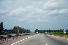95 e高速公路莫斯科彼得斯堡圣徒 库存照片