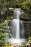 96 Lower Waterfall. A beautiful Waterfall surounds by a forest stock photo