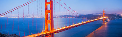 9669 Golden Gate Bridge Stock Photography