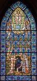97 окно запятнанное стеклами Стоковая Фотография RF