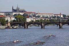 97.a competición Primatorky del rowing en Praga Imagen de archivo