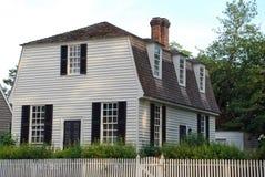 98 kolonistów dom Obrazy Royalty Free