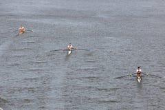 98.o Raza del rowing de Primatorky Imagen de archivo libre de regalías