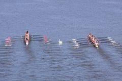 98.o Raza del rowing de Primatorky Foto de archivo libre de regalías