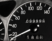 99.999, 9 μίλια στοκ εικόνες με δικαίωμα ελεύθερης χρήσης