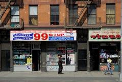 99 centwinkel, New York Stock Afbeeldingen