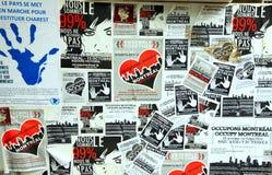 99% occupent le panneau de mouvement Photo libre de droits
