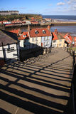 99 steps at Whitby Royalty Free Stock Images