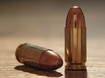 9mm Bullets stock image