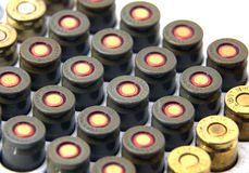 9mm Bullets. In a box Stock Images