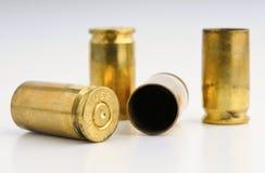 9mm casingsskal Arkivfoton