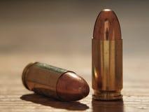 9mm Gewehrkugeln Stockbild