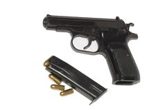 Free 9mm Gun Royalty Free Stock Photography - 7079557