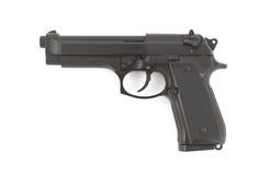 9mm handeldvapen Royaltyfri Bild