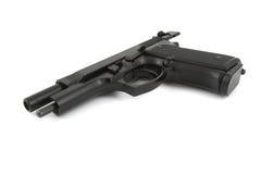 9mm handeldvapen Arkivfoto