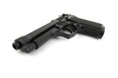 9mm handeldvapen Arkivbilder