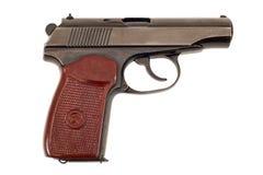 9mm handeldvapenryss Arkivfoton