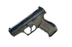 9mm handgun Stock Photography