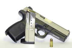 9mm_pistol Photo stock