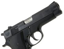 9mm pistol Stock Images