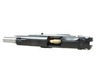 9MM pistool met weg Royalty-vrije Stock Fotografie