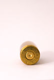 9mm shell casing. One Dirty 9 mm shell casing primer up Stock Photos