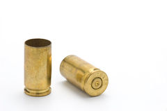 9mm shell casings Royalty Free Stock Photography