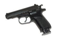 9mm tryckspruta Arkivfoton