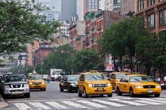 9no Avenida New York City Imagen de archivo libre de regalías