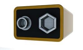 9v电池 免版税库存照片